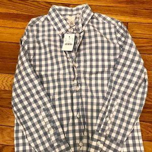NEW - Boys J. Crew Cotton Shirt